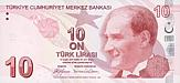 10 Lira - Turkey (2009)