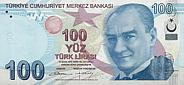 100 Lira - Turkey (2009)
