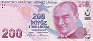200 Lira - Turkey (2009)