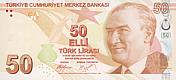 50 Lira - Turkey (2009)