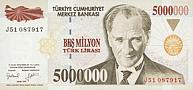 Tue-5000000-Lirasi-V-1997